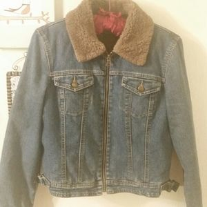 INC denim jacket, S